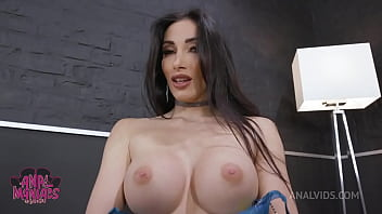 Classy Clea Gaultier Goes Hard for Analmanias DP LD009