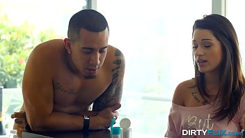 Dirty Flix - PMS slut Lacy Channing fucked by a step bro 10 min