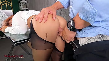 OMG! The Secretary Got Creampie In The Office! Angry Boss!