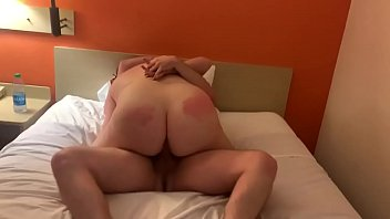 Angel gets fucked by stranger in hotel room