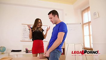 Russian Sex Teacher Liya Silver Fucks a Massive Dick in Class GP524