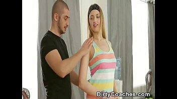 Pink Leggings Are Perfection On Lean Sporty Teen Milana Fox - DirtyCoach