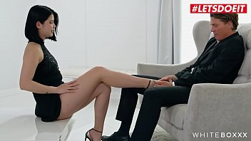 WHITE BOXXX - #Lady Dee #Ricky Rascal - Czech Girlfriend Tease Lover And Rides Him Good
