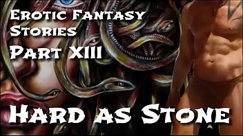 Snake penetration Erotic fantasy stories 13: hard as stone