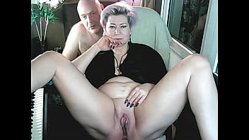 On quiet family evenings, I spread the legs of my bitch, showing her lustful hole to everyone!