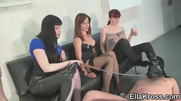 Three Mistresses, Six Feet, One Slave!