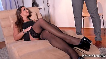 Interracial bangers wanna see secretary Amirah ride big black veiny cock