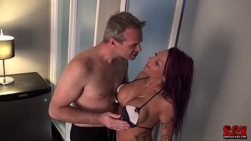 Hot swinger couple met and fuck in hot tub part 1