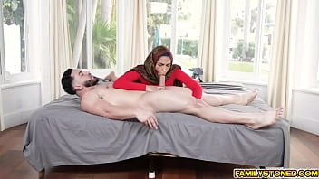 Dirty cock pic Maya farrell slobbs her stepbros meat making it wet and slippery and ready for some pussy pounding