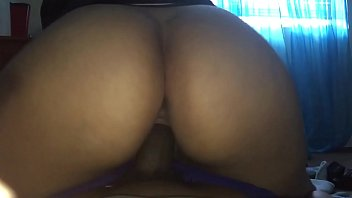 18 year old Latina taking dick on the floor