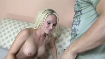 Perfect Body Blonde Babe Takes Cock On Camera