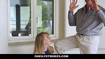Familystrokes - Cute Stepdaughter (Iggy Amore) Punished By Her Stepdaddy And Mom