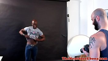 Muscular Black Model Fucked In His Fine Ass