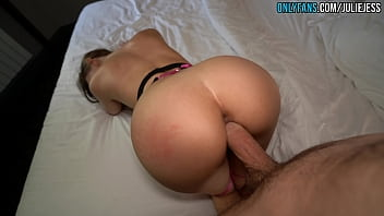 Teen Loves Big Loads In Her Tight Pussy - Creampie 4K