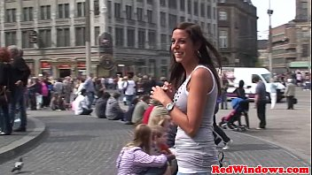 Flesh light handjob movies Petite dutch prostitute pussypounded by tourist