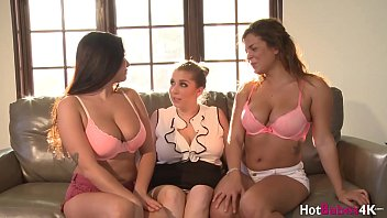 Threesome Lesbian Couple With Therapist