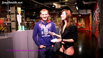 Coverno panties interview at museum of erotic n sex