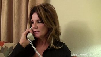 Mature Milf Deauxma is need of a good fucking, she calls an escort agency for a man. She is surprised when it is a woman with a strapon! See the full video and more of Deauxma only at DeauxmaLive.com