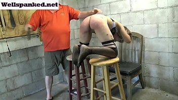 Caned bottom videos Alasandras punishment room caning