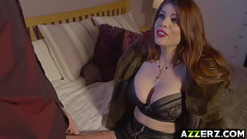 Redhead babe Lucia Love got her sexy ass fucked