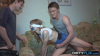 Dirty Flix - Surprise fuck and double cumshot Sonja