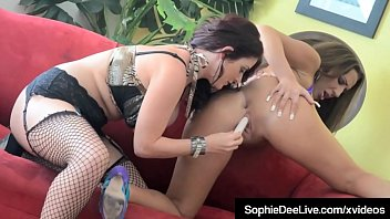 Tits & Clits With Busty Brit Sophie Dee & Richelle Ryan!