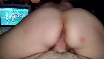 POV Reverse Cowgirl With Huge Creampie!
