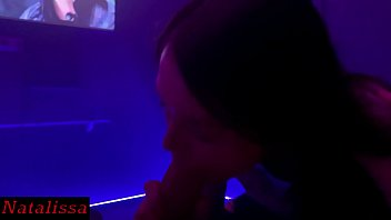 POV Blowjob During The Movie - Natalissa