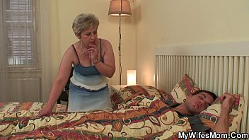 My horny m. in law awakes me