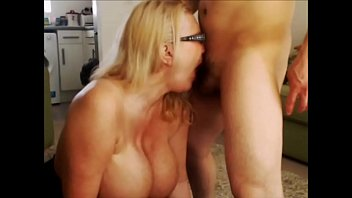I deepthroat a masked guys cock and take a facial !