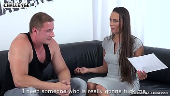 Muscular Loser Can't Shoot Jizz for Bombshell Mea Melone