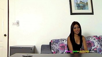 Young Thai chick auditions for gogo job