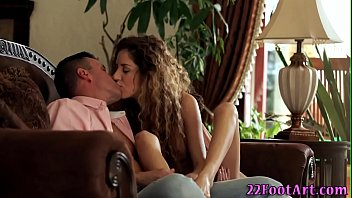 Banged babe jerks and gets soles spermed
