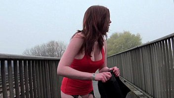 Holly hindman nude Milf amateur redhead holly flashing and getting naked in public