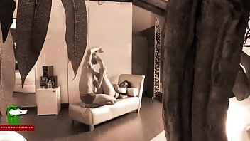 Streaming Video A voyeur catches them fucking on the white couch. SAN014 - XLXX.video