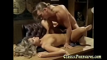 Two Hot Dudes Fucks A Blonde Lady In Vintage Porn