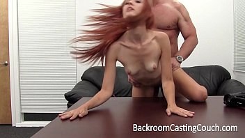 Hot Redhead Ass Fucked and Cummed In