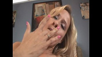 Blonde has ass and pussy fucked