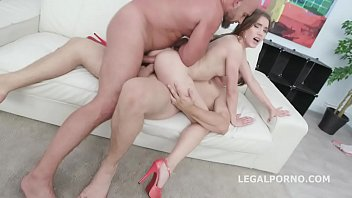 Back to DAP, Evelina Darling gets 2 BWC with Balls Deep Anal, DAP, Gapes and Swallow GIO1161