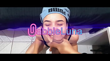 Gabbie Luna – I will be able to swallow it all one day