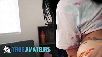 Sexy Babe Payton Fills Her Mouth With Cum - TrueAmateurs