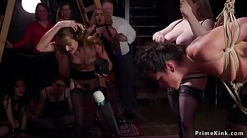 Slave Squirting On Bbc In Bdsm Party