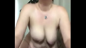 Wife rides toy and cums hard