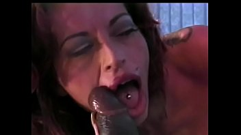 Luxurious milf with huge buckets gets a long black dick in her wet slit