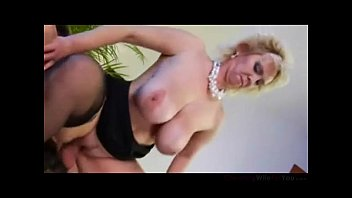 Young Dude Fucking Busty Mature Wife