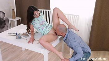 Anal-Angels.com - Katty West - Glasses lead to massive facial