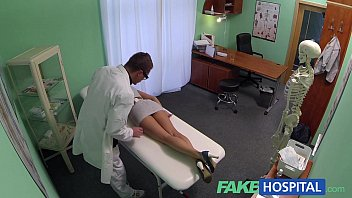 Sexy female doctor male patient stories - Fakehospital sales rep caught on camera using pussy