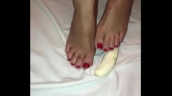Foot fetish what now 70s porno music with banana foot fetish