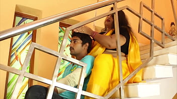Hot indian masala aunty romance with step son thumbnail