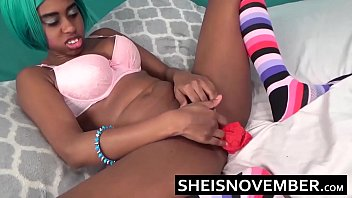 Naked long legged skinny - Kawaii real intense orgasm pussy squirt by young ebony cosplay model msnovember spreading her skinny legs apart and squirting on her red panties hd sheisnovember